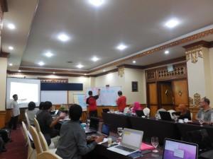 Suasana Lokakarya Tata Kelola Keuangan Desa