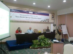 Seminar Desa Mandiri Menuju Kabupaten Impian (25/05/2015)