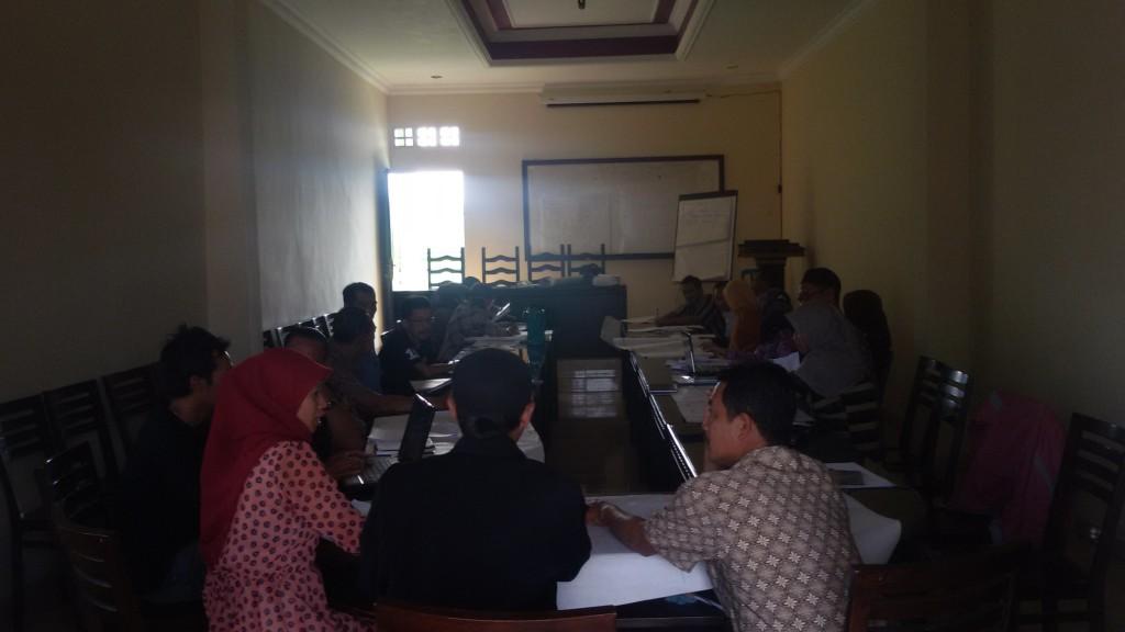 """In house training"" Desa Tunjungtirto. (Foto: Edi Purwanto)"