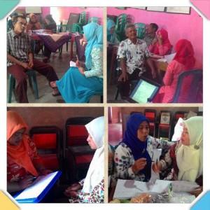 Proses pelatihan pemetaan kesejahteraan lokal