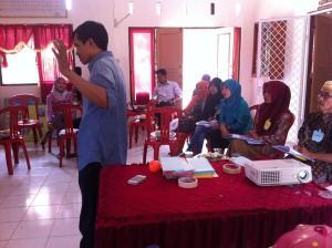 Pelatihan Pengelolaan keuangan Desa Kalukubodo
