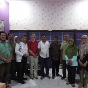 Peneliti ITB Bersama BPD, LPMD dan Pemerintah Desa Tunjungtirto