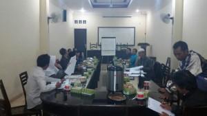 Tim Pembaharu Desa Tunjungtirto mendalami materi Keuangan Desa