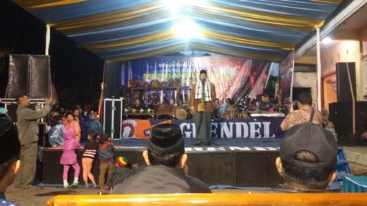 sambutan Bupati Malang Launching website di puncak acara bersih Desa Kucur